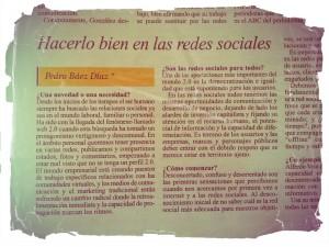 Hacerlo bien en las redes sociales (el dia 1 de mayo de 2012)