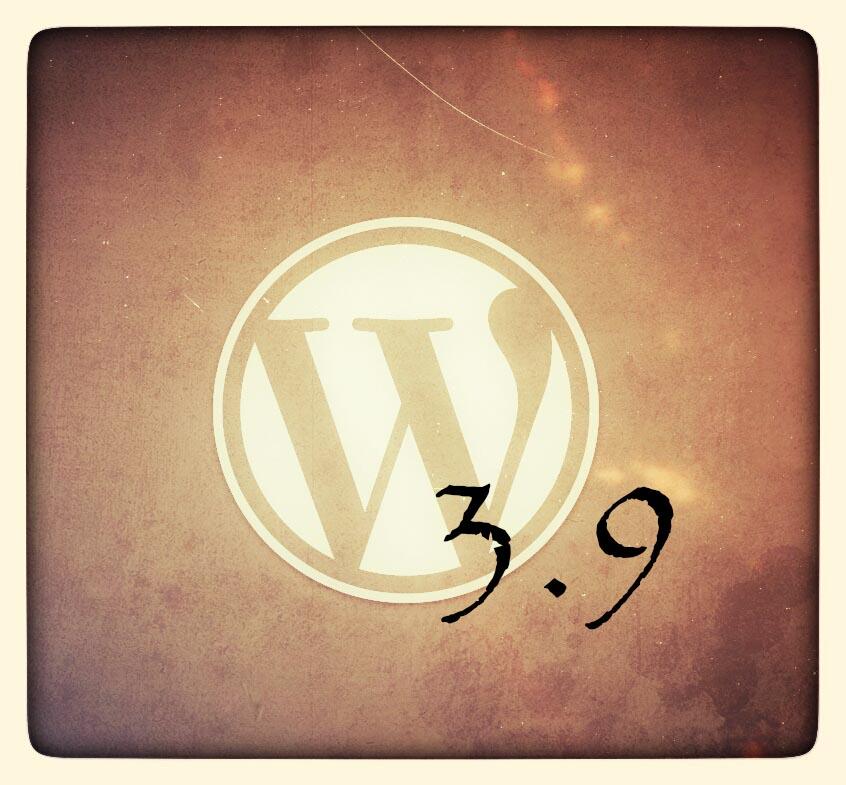La nueva versión 3.9 de #wordpress nos llega cargada de mejoras visuales.